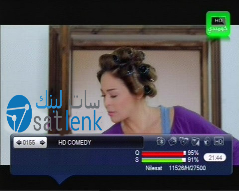 تردد قناة اتش دى كوميدى ''HD COMEDY'' جديد النايل سات