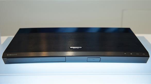 """يتطلب شاشة تلفزيون بدقة وضوح فائقة سامسونغ تطلق أول مشغل بلوراي بتقنية """"ألترا إتش دي"""""""