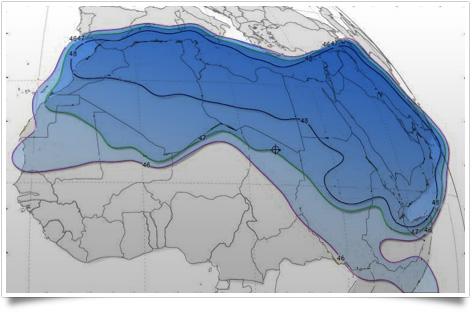 تعرف على مقاييس الأقمار التى يمكن إستقبالها بشمال إفريقيا 2016