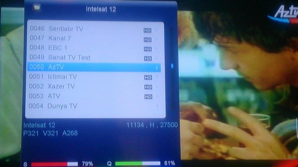 تردد قناتى Ictimai TV وا AzTV على القمر الازرى 46 شرق الجديد