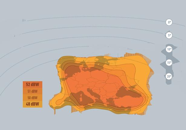 تعرف على قنوات وتغطية القمر Eutelsat 16A @ 16° East كل شئ تريد معرفته عن قمر Eutelsat 16E