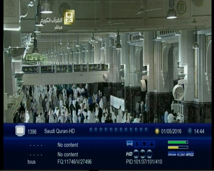 ترددات القنوات الاسلامية على نايل سات 2019 .. قنوات القرآن الكريم على Nilesat