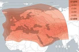 تردد القنوات الرياضه علي يوتل سات 16 شرق Eutelsat 16E