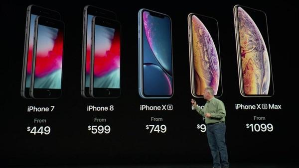 أسعار هواتف آى فون الجديدة 2019